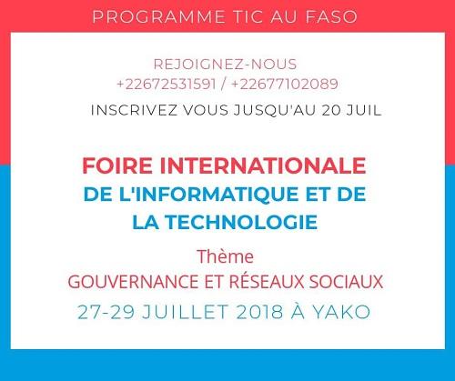 9e édition de la Foire internationale de l'informatique et de la technologie (FIIT): Wangnin Zerbo nous fait le point des préparatifs