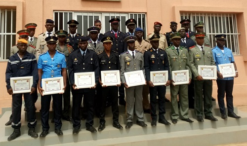Institut supérieur d'études de protection civile de Ouagadougou: 22 officiers désormais aptes à remplir la fonction de chef de gare incendie