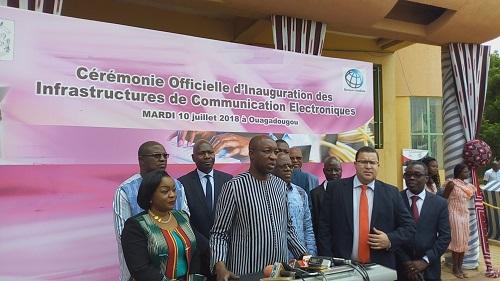 Communication numérique au Burkina: La bande passante de l'Internet augmentera bientôt de 5 gigabits