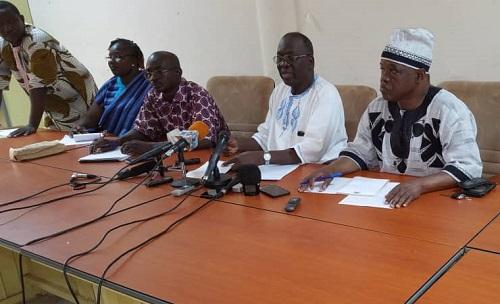 Santé: Le SYNTSHA appelle le gouvernement au respect  du protocole d'accord du 13 mars 2017