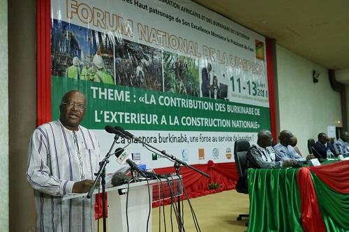 Forum national de la diaspora: Harmoniser les vues pour la dynamique de développement du Burkina