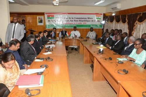 Coopération: bientôt la réouverture de l'ambassade de l'Inde au Burkina