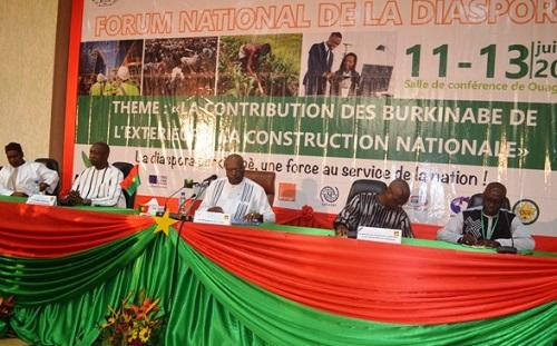 Forum national de la diaspora: Le président Roch Kaboré exhorte ses compatriotes de l'extérieur à l'unité et à la cohésion