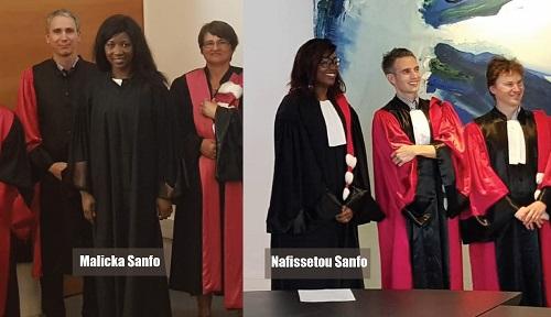 Diaspora: les sœurs Sanfo, un parcours «SANS FAUte» avec à la clé des doctorats  et des honneurs pour le Burkina Faso!