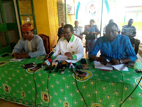Politique: «Nous n'allons pas diaboliser le CDP la journée et courir aller voir ses responsables la nuit», Adama Sosso, secrétaire général de l'UPC