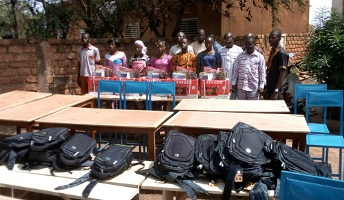 Houndé: L'Association lumière pour enfants  exprime sa solidarité légendaire