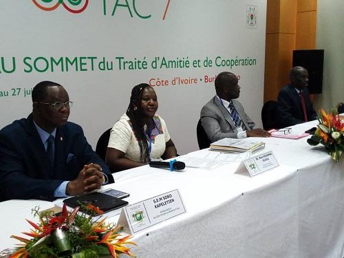 VII ème Traité d'Amitié et de Coopération Côte d'Ivoire-Burkina: Ouverture des travaux avec la rencontre des experts ivoiriens et burkinabè