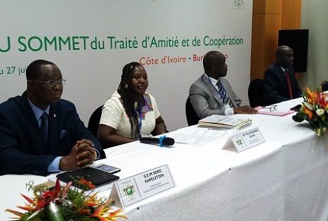 Axe Yakro-Ouaga: Une «coopération qui se bonifie au fil des ans»!