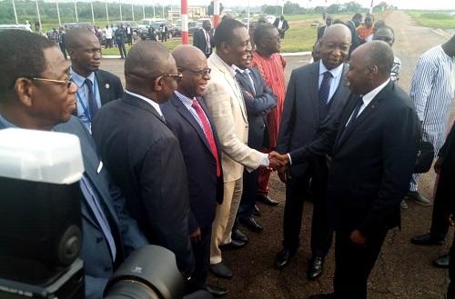 TAC 2018: le Premier ministre burkinabè et son gouvernement sont arrivés à Yamoussoukro