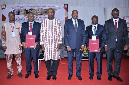 Coopération: le Burkina Faso, quatrième investisseur direct étranger en Côte d'Ivoire, en 2017