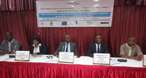 Economie verte au Burkina Faso: Deux jours pour réfléchir à des options stratégiques plus fortes