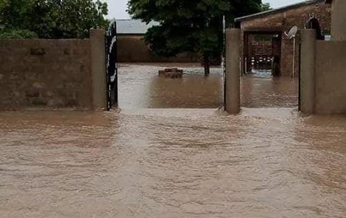 Ouagadougou:  Des inondations ont été enregistrées dans  les arrondissements n°1, 2, 3, 6, 7, 10, 11 et 12