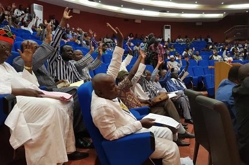 Révision du code électoral du Burkina Faso: L'opposition parlementaire claque la porte