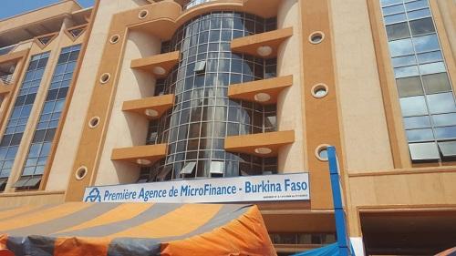 Première agence de microfinance au Burkina Faso (PAMF BF): L'agence du grand marché de Ouagadougou officiellement ouverte