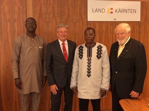Coopération décentralisée Burkina - Autriche: Vers l'établissement de partenariats avec la région de la Carinthie