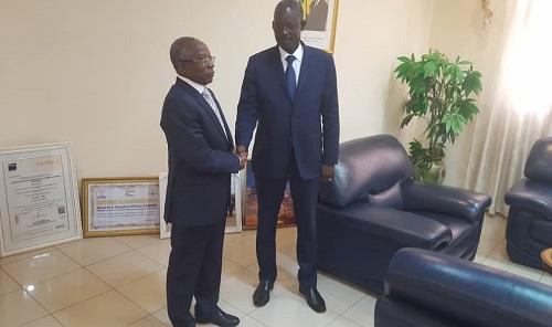 Coopération: Le nouveau président du conseil d'administration de la Société ivoirienne de raffinage en visite à la SONABHY