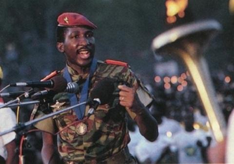 Conseil national de la Révolution: Le premier discours du capitaine Thomas Sankara