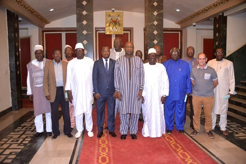 Premier ministère: Le Groupement professionnel des industriels reçu par le Premier ministre Paul Kaba Thiéba