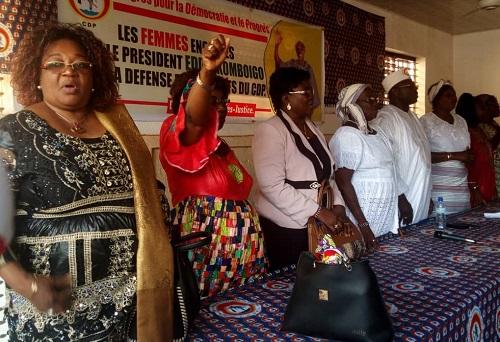 Rencontre des femmes CDP du Kadiogo: «Le CDP est le plus gros baobab du monde politique du Burkina. Soyez-en sûres» (Eddie Komboïgo)