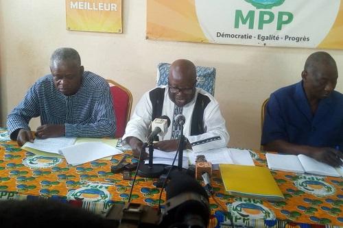 Nouveau Code électoral: Le MPP appelle ses adversaires à cesser la
