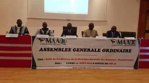Assemblée Générale Ordinaire de la Mutuelle des Agents de l'Administration des Douanes (MAADO)
