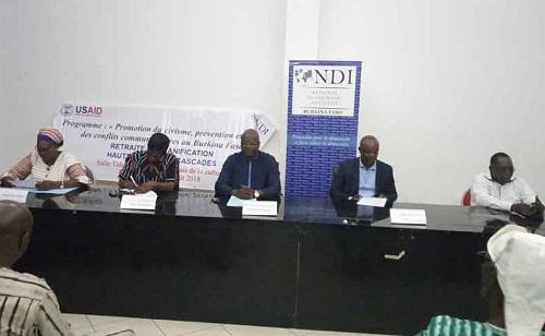 Lutte contre l'incivisme: Le National Democratic Institute outille des acteurs de Bobo-Dioulasso