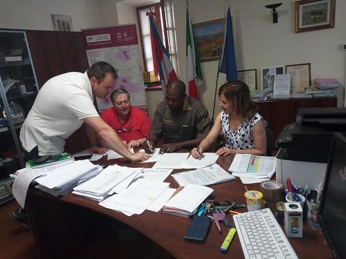 Coopération décentralisée: le maire de Ziniaré «vend» ses projets de développement en Italie