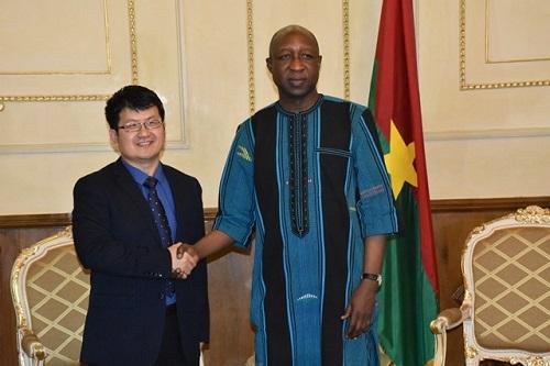 Premier ministère: La Chine et le Burkina accordent leurs violons pour une coopération harmonieuse