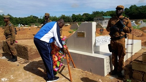 Assassinat du MDL Yassia Sawadogo: La Gendarmerie rend hommage à son élément