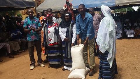 Carrière de granite de Pissy: Alassane Bala Sakandé à la rencontre «d'hommes et de femmes courageux»