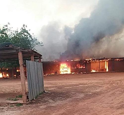 Incendie au centre médical avec antenne chirurgicale de Kongoussi: Des dégâts matériels enregistrés
