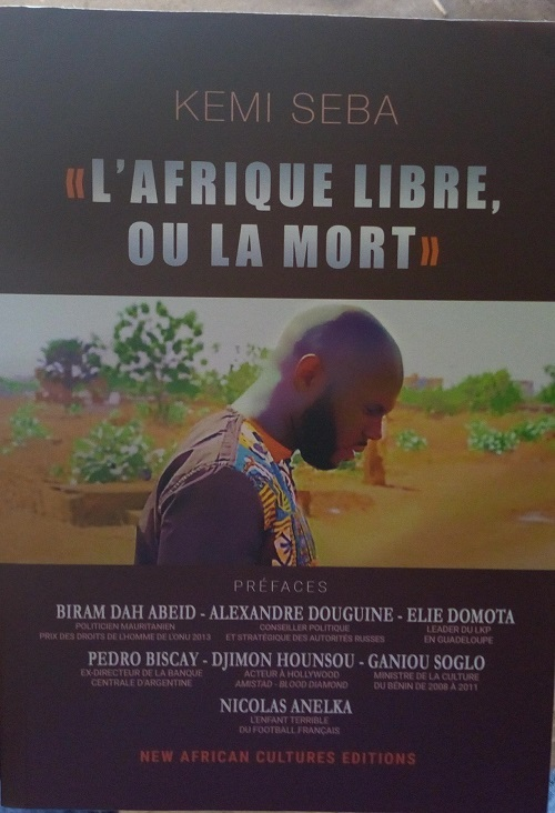 Front anti-CFA: «La lutte contre la France-Afrique, même si elle va se terminer par le sang…», dixit Kemi Seba, président de Urgences Panafricanistes