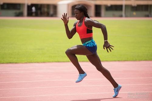 Marthe Koala, athlète burkinabè: «Je demande aux autorités de continuer à nous faire confiance, nous allons ramener la médaille mondiale olympique»