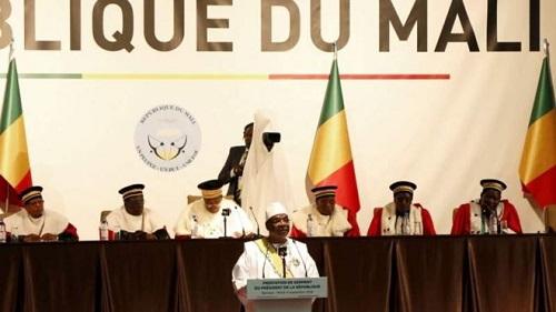 Mali: le président IBK prête serment sur fond de contestations