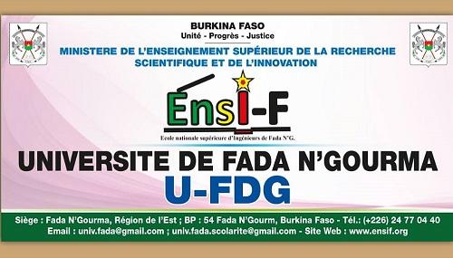 Université de Fada N'Gourma: Test d'entrée en première année de Licence en Génie Civil «Bâtiments & Travaux Publics» et en Génie Géologique & Minier «Exploration & Exploitation Minières»