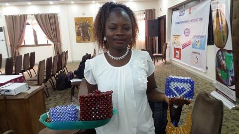 Entreprenariat des jeunes: Maya Dimzouré ou la passion des perles