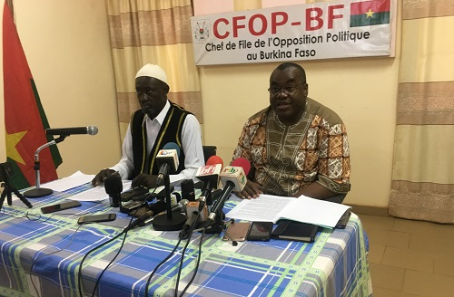 Situation nationale: La couche noire de l'opposition politique