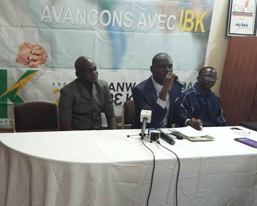 Mali : Le collectif d'associations et mouvements pro IBK nie une crise post électorale