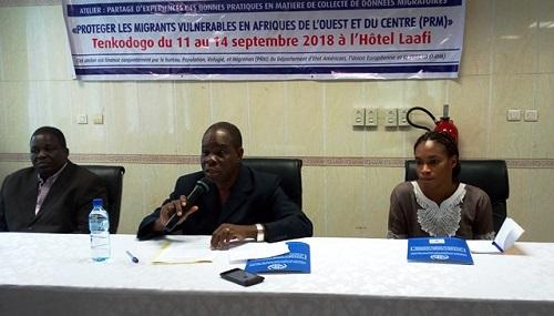 Traitement  des données migratoires: Le Burkina à l'école du Ghana et du Sénégal