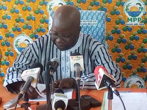 MPP: «La cohésion et la discipline demeurent des valeurs cardinales dans notre parti» (Simon Compaoré)