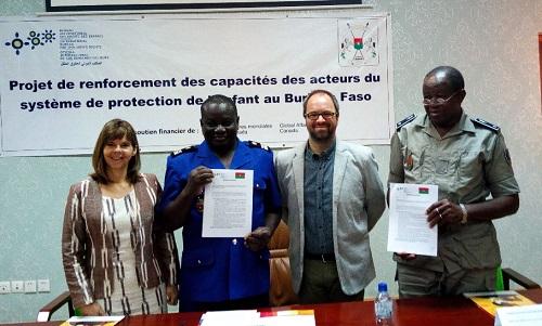 Protection de l'enfant: La police et la gendarmerie s'allient au Bureau international des droits des enfants