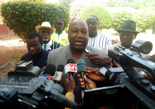 Situation nationale: «S'ils ne peuvent pas, ils rendent le tablier et on repart à des élections!», Zéphirin Diabré