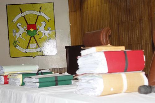 Procès du putsch de 2015: Le capitaine Zoumbri remet en cause le rapport de l'expert Younoussa Sanfo
