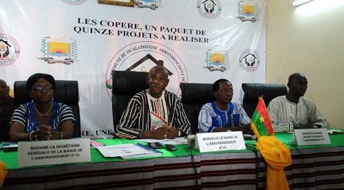 Arrondissement N°10 de Ouagadougou: Et si la population contribuait à son propre développement?