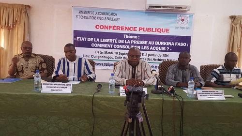 Liberté de la presse au Burkina: Les acteurs veulent consolider les acquis