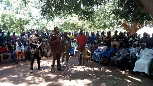 Karangasso-Vigué: Le gouverneur de la région promet d'arrêter la «spirale de violence»