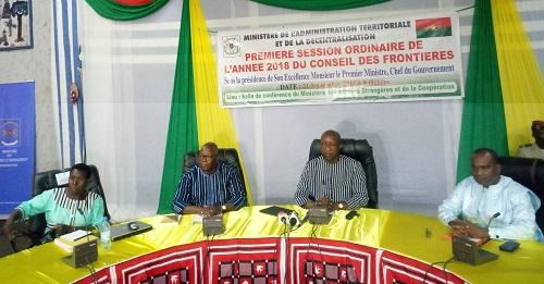 Conseil des frontières: Le Burkina face au défi du bornage des limites de son territoire