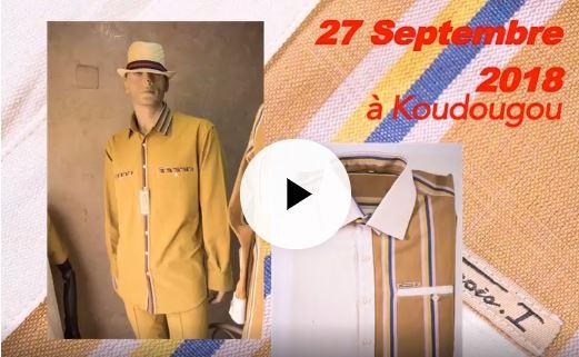Textile: François 1er lance son unité semi-industrielle de textile et de l'habillement le 27 septembre 2018 à Koudougou