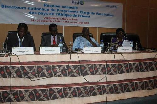 Programme élargi de vaccination: Le bloc épidémiologique de l'Afrique de l'Ouest fait le point des progrès accomplis