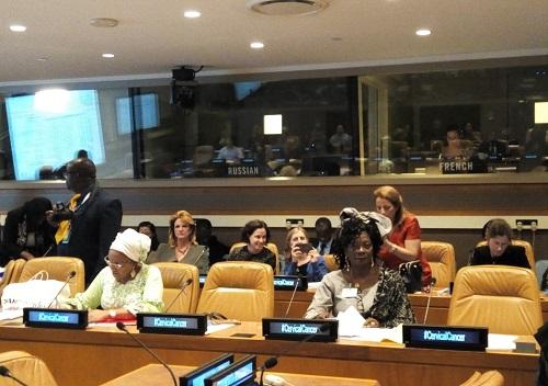 73e session de l'ONU: Le Burkina réaffirme son engagement à vaincre le cancer du col de l'utérus
